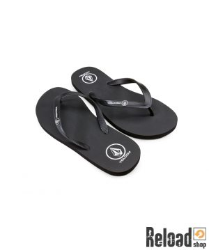 Infradito Volcom Rocker Solid black - Reload Shop