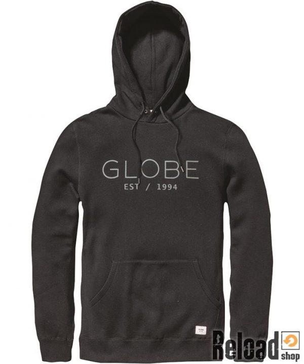 felpa globe mod hoodie black