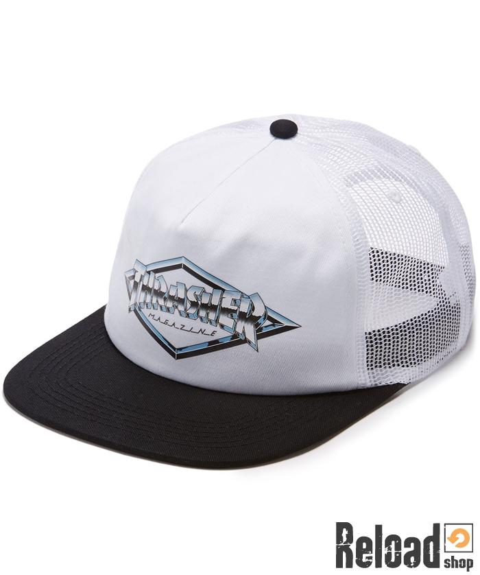 Cappellino Thrasher Magazine Emblem Trucker Hat