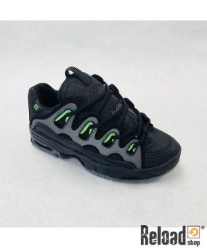 Scarpe Osiris D3 black green charcoal