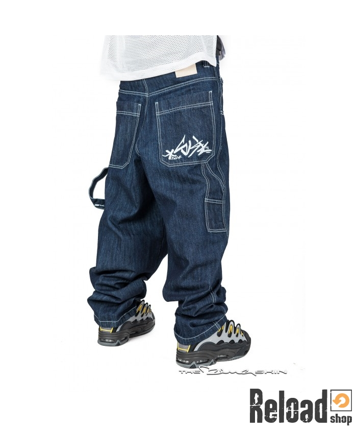 113b07169d Pantalone Jeans Blueskin ricamo Tag baggy col 001