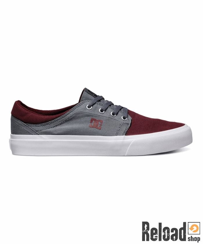 new concept 47f2e 81cbf Scarpe DC Shoes Trase TX oxblood grey
