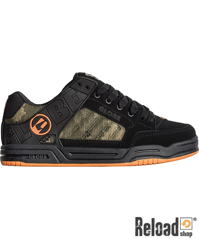 Camo Scarpe Black Globe Shop Tilt Orange Reload qHrtxHng